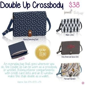 Nwt Thirty One 31 Double Up Crossbody Bag Boutique